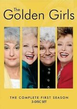 The Golden Girls: The Complete First Season (3-Discs DVD, ABC Studios) *Read