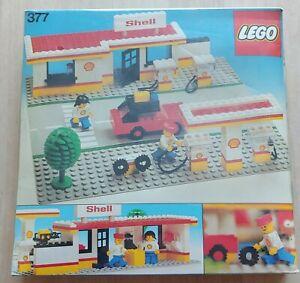 Legoland 377 System Tankstelle Classic Town neu ovp ungeöffnet MISB 1978 SHELL