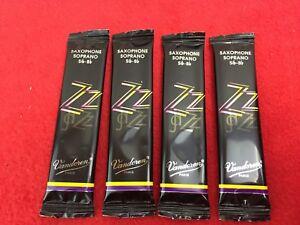 Vandoren - Jazz - Soprano Saxophone Reeds x 4 - Strength - 3 - (H)