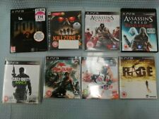 8 x PS3 Games MW3 Assassins Creed Revelations + 3 Doom 3 Rage Dead Island #543