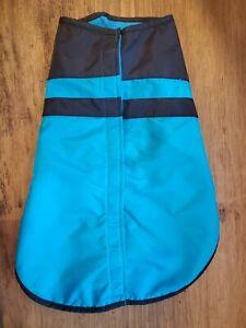 Waterproof Rain Jacket Warm Winter Dog Vest Coat Clothes Fleece Pet Zip Large