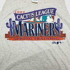 Vintage Seattle Mariners 1996 Spring Training Cactus League Tank Top Shirt XL
