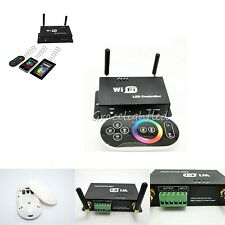 DC5-24V RF WiFi LED RGB Strip light Controller phone with touch panel remote