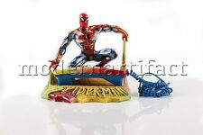 Steve Kaufman Spiderman Marvel Phone Hand Painted Sculpture Pop Art Signed COA