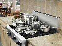 Cuisinart Multiclad Pro Stainless Steel Cookware Set - 12 Pieces