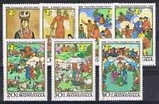 Mongolia postfris 1981 MNH 1436-1442 - Woman Decade (p055)
