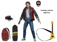 "Pre Order: 7"" NECA Back to the Future Ultimate Marty Action Figure Michael J Fox"