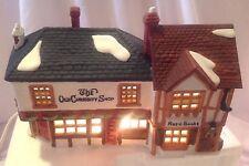 Dept 56 Dicken's Village The Old Curiosity Shop 59056 Lighted Retired