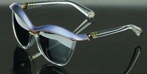 RARE NEW Genuine Christian DIOR Demoiselle 2 Blue Pink Crystal Sunglasses EXG 3R