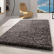 Hochflor Shaggy Teppich,Wohnzimmerteppich,einfarbig Weich Soft,TAUPE