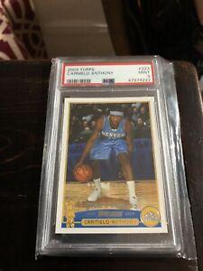 PSA 9 2003 Topps Carmelo Anthony Rookie RC Card # 223 PSA 9 Mint