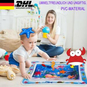 Baby Wasserkissen Spielmatte Aufblasbare Früherzieh Spielzeug 66 x 50 cm DE