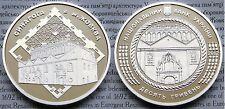2012 Ukraine 10 UAH PROOF 1 OZ Silver Zhovkva Synagogue-mintage 7000
