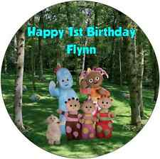 Personalised 19cm In The Night Garden Edible Wafer Paper Cake Topper