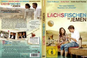 DVD LACHSFISCHEN IM JEMEN - EWAN McGREGOR + EMILY BLUNT + KRISTIN SCOTT THOMAS *