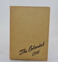 Vintage 1941 Hempstead High School Yearbook HEMPSTEAD, LONG ISLAND New York WW2