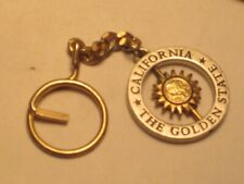 California The Golden State spinning sun key chain souvenir keychain