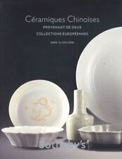 Sotheby's Chinese Catalogue Céramiques Chinoises 2008 HB