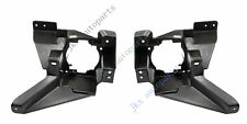 For Ford Fusion Mondeo 13-16 1Pair Black Bumper Fog Light Lamp Brackets Frame k