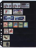 **ANCHOR 10 New Stock Pages 7 S (7-Rows)- black stock sheets/  FREE SHIPPING