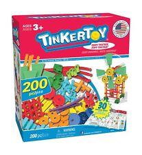 TINKERTOY 30 Model Super Building Set – 200 Pieces – For Ages 3+ Preschool Ed...