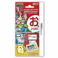 Pokemon Nintendo 2ds Screen Protective Filter Japan IMPORT