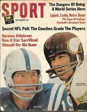 SPORT not Illustrated 1965 JOHNNY UNITAS Colts TOMMY MASON Vikings NEWSSTAND NL