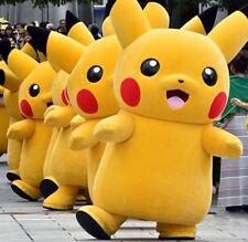 Hot 2016 New Pokemon Go Pikachu Mascot Costume in Reenactment Theater GIft