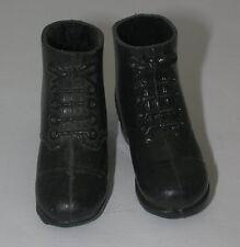 Vintage GI Joe Short Black Boots  GI2993