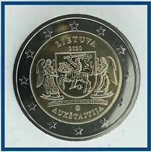 2 Euro Münze Litauen 2020 ° Region Aukstaitija (Oberlitauen) ° Ro 19