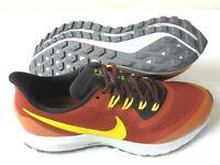 Nike Mens Air Zoom Pegasus 36 Trail Running Shoes Orange Yellow Size 13 NEW