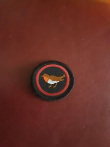 Vintage Girlguiding Bird Patrol Badge Patch Guides Brownies Sew On Camp Blanket