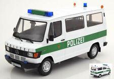 Mercedes 208d Bus Police Van 1:18 Model KK SCALE