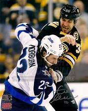Zdeno Chara Boston Bruins Signed Autographed Fight vs Jets Chris Thorburn 16x20