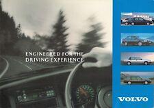 Volvo 1992-93 UK Market Sales Brochure 440 460 480 240 850 940 960