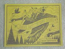 Dave Matthews Band Poster 2012 Molson Amphitheater Toronto Ontario Gold Varient