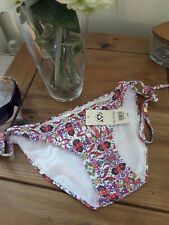 MISS SELFRIDGE FLORAL SIDE TIE BIKINI BOTTOMS ~ SIZE 10 BNWT