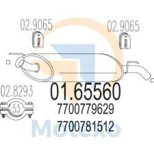 MTS 01.65560 Exhaust RENAULT R 5 Super 0.9 41bhp 01/87 - 12/94