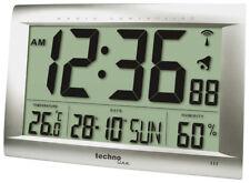 Technoline Horloge Murale Radio-Pilotée Ws 8009 Température DCF-77 Écran LCD 490