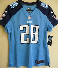 Women's NFL Tennessee Titans Football Chris Johnson #28 Game Jersey M NEW