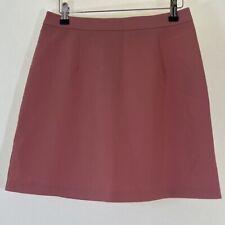 BNWT ASOS Peach pink A Line mini skirt size 10 euro 38 NEW