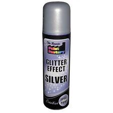 Silver Glitter Effect Spray Paint Decorative Creative Crafts Art DIY Design