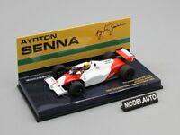 Minichamps 1:43 McLaren  Ford MP4-1C Ayrton Senna Test Silverstone  1983