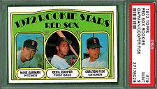 1972 Topps CARLTON FISK Rookie Cooper #79 PSA 9 MINT!! Boston RED SOX HOF!!