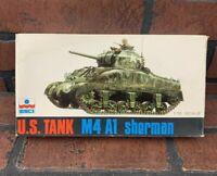 U.S. Tank M4 A1 Sherman Scale Model