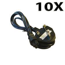 Lote 10X 1.5m C5 Reino Unido Mickey Mouse Hoja De Trébol Cable de alimentación de red del ordenador portátil uked