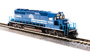 3710 Broadway Limited N-SCALE EMD SD40-2, Conrail #6391, Blue & White