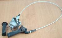 Handlebar Hand Grips Throttle Cable Carburetor For Honda 3-Wheeler ATC185 ATC200