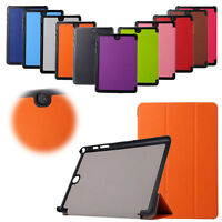 Stylish Design Tri-Fold Leather Case Cover For Samsung Galaxy Tab A 9.7 T550 NEW