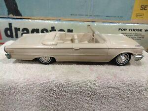 AMT 1963 Ford Galaxie 500 Convertible PROMO TAN